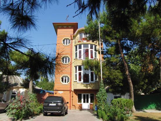 Гостиница на улице Владимирской, г. Анапа