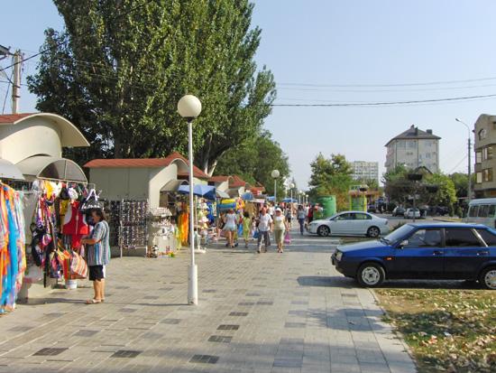 Красноармейская улица г. Анапа