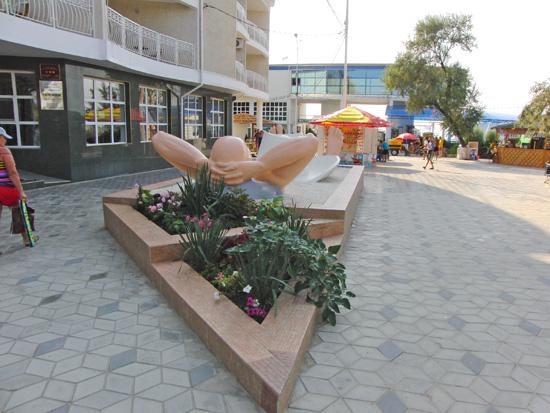 Обнаженный отдыхащий, скульптура, г. Анапа