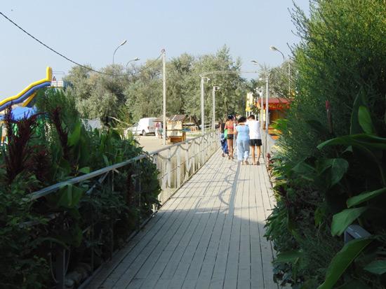 Мостик через Анапку, г. Анапа