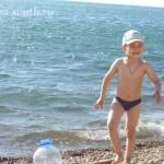 Галечный пляж, 3.06.2011
