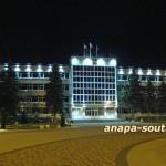 Ночная Анапа: администрация Анапы