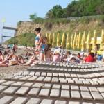 Анапа: пляж «Высокий берег», 3.06.2011