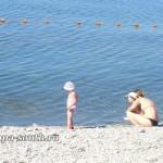 Отдых с детьми на пляже в Анапе