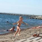 В начале лета: пляж «Высокий берег», 3.06.2011