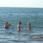 Летняя Анапа: пляж «Высокий берег», 3.06.2011
