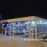 Ночная Анапа: магазин пляжной и курортной одежды, аксессуаров, солнцезащитных очков