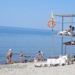 Спасательный пост на пляже в Анапе