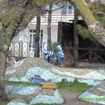Набережная Анапы в апреле