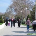 Набережная Анапа весной