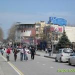 Весенняя Анапа: улица Горького