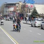 Анапа весной: улица Горького