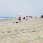 Пляж Витязево в апреле