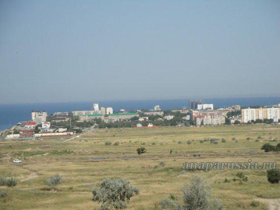 Вид на Анапу