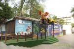 Выставка движущихся динозавров