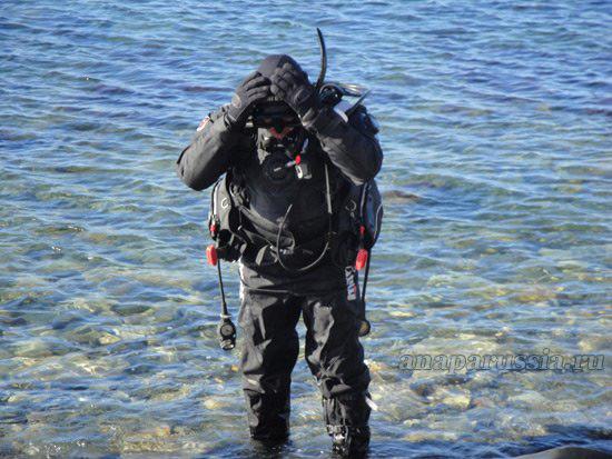 Подводное плавание в Анапе